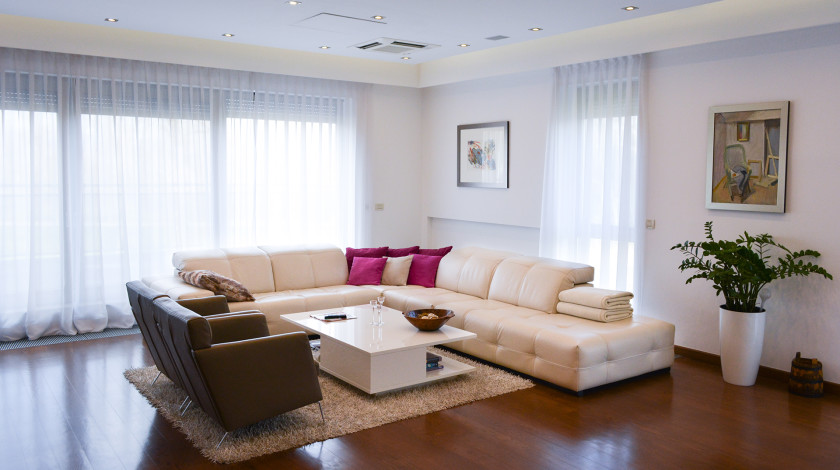 Increasingly diverse demands on the living room as the center of home life, have led to new forms of design.